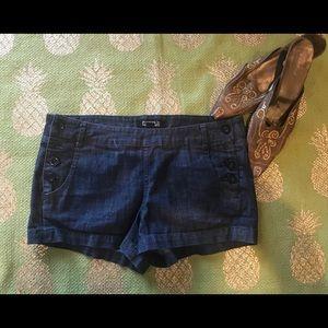 Denim shorts women